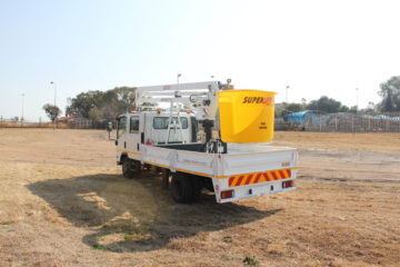 Smith Capital, Aerial Platform, Articulated, Non_Insulated, SL 125 - Crew Cab